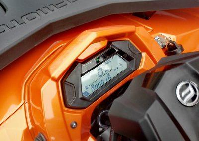 CF-Moto-450-DLX-Tacho-LOF-Neufahrzeug