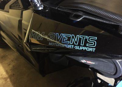 HM-3VENTS Quads ATV 8